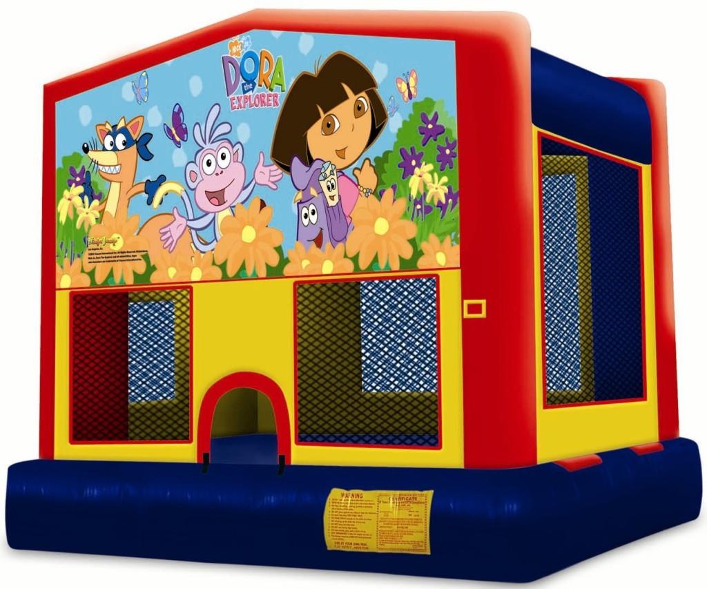Dora-Bounce-House-Book-Now