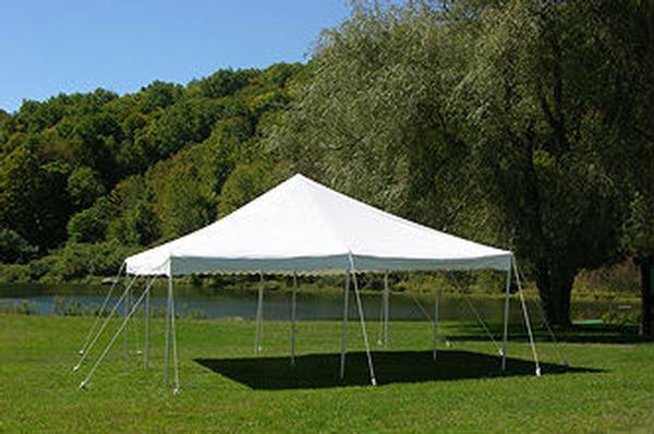 20×40 Pole Tent Rental